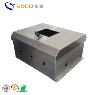 Outdoor waterproof sheet metal stainless steel aluminum electric enclosure meter junction metal box