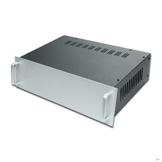 Customized sheet metal work amplifier enclosure