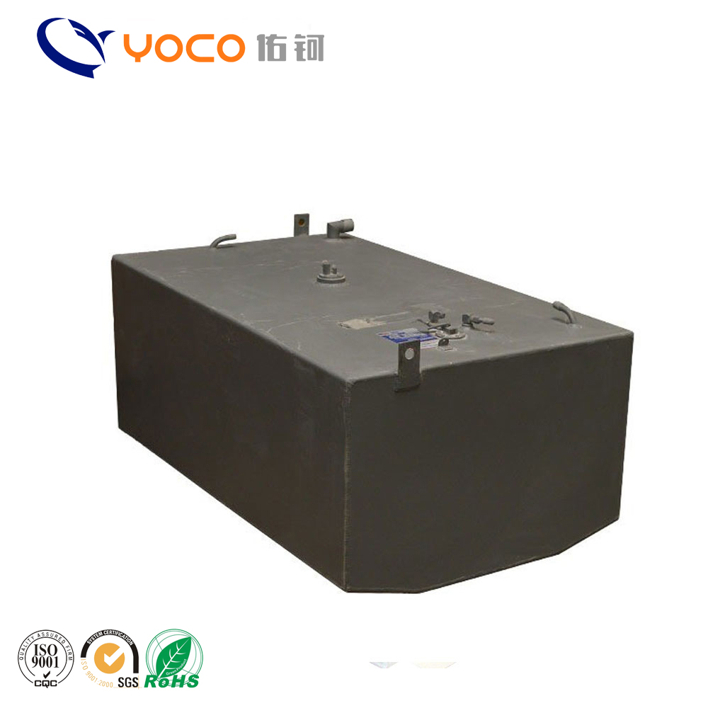 Custom made steel fuel tank for car
