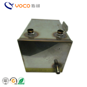 Lower price custom made stainless steel vacuum tank