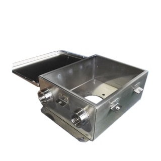 Waterproof IP67 IP65 stainless steel sheet metal aluminum electronic electric enclosure