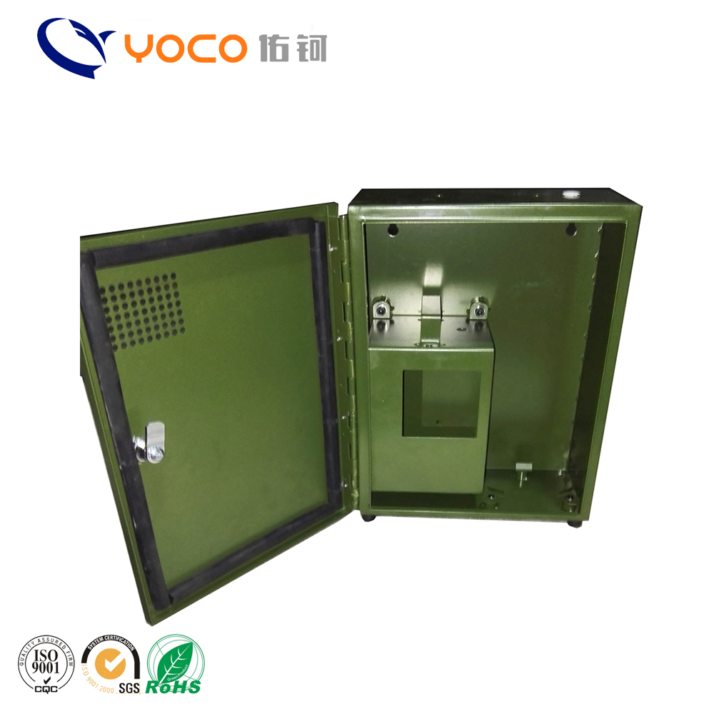 Factory custom made OEM sheet metal aluminium chassis enclosure