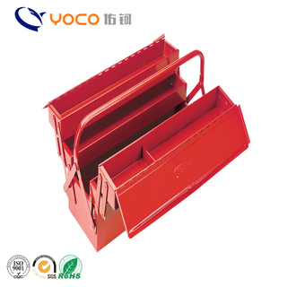 Best selling wholesale bbq red painting tool box grill toolbox