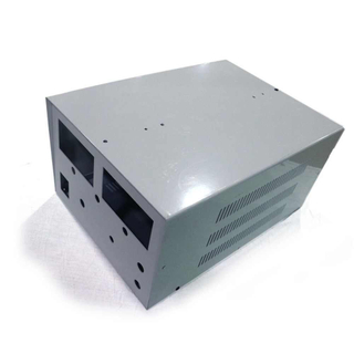 Custom made precision custom aluminum enclosure