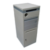outdoor wall mounted white cast aluminum mailbox with post letter box