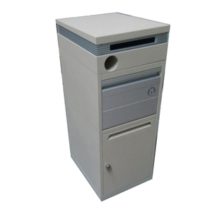 house custom covers residential modern stainless steel mailbox