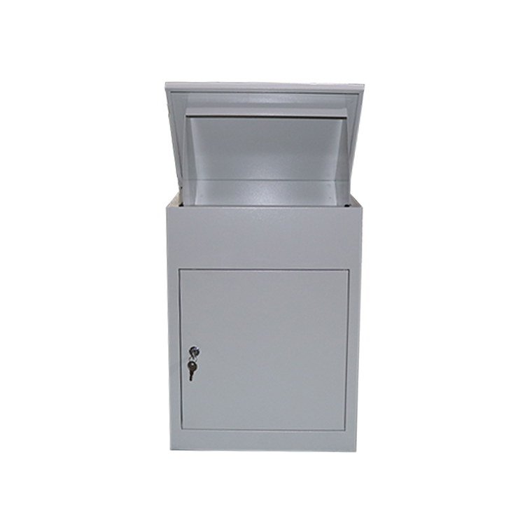Post Garden Steel Locked Mailbox Letter Box Post Box Stainless