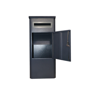 Home Outdoor Package Stainless Steel Large Smart Parcel Delivery Drop Post Mail Letter Box