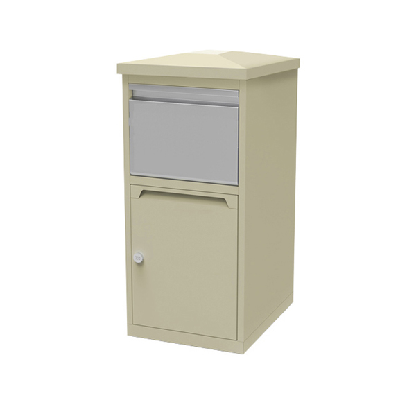 outdoor rendered door slot tall body outdoor mailbox set units