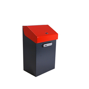 post box wall smart mailboxes with cameras key outdoor
