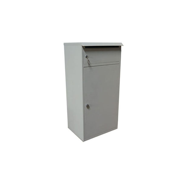 zinc plate cast red iron large mail post box steel letter boxes for sale