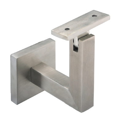 Custom sheet metal working square tube mounting bracket