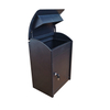 Outdoor Galvanized Steel Stainless Parcel Mail Drop Packages Delivery Box