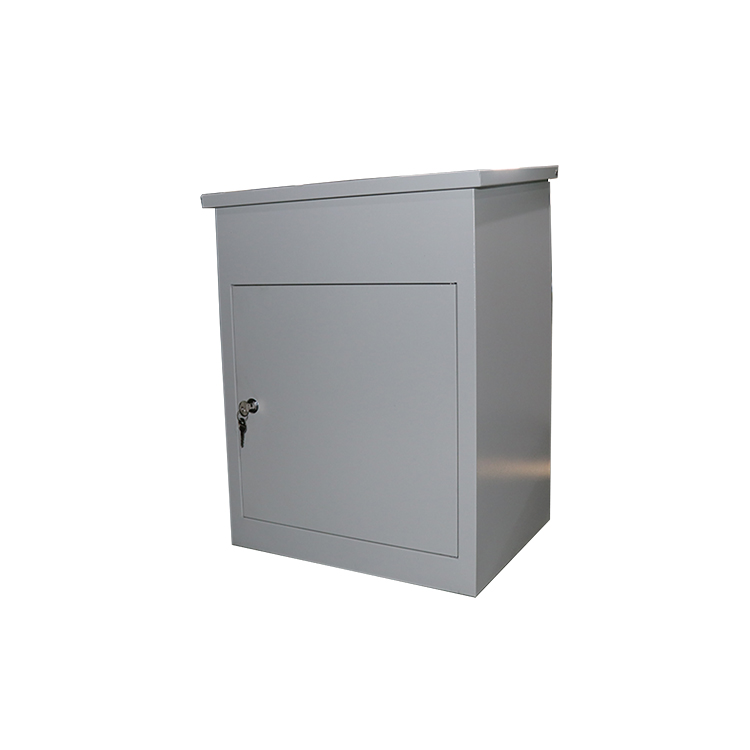 Packing Stand Small Post Built in Letter Box Mailbox